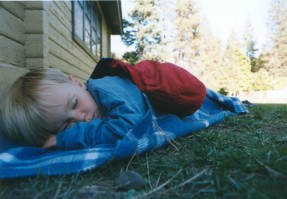 Asleep at Camp Wooten